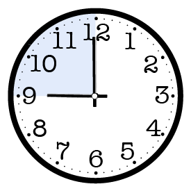 Late Morning Clock