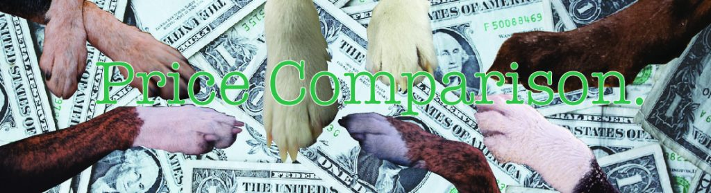 Pet Services Price Comparison
